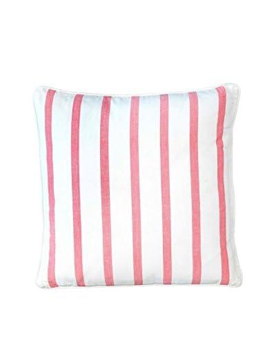 Lene Bjerre Abelia Throw Pillow, White/Coral
