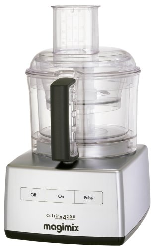 Magimix 4200 Food Processor, Satin Stainless Steel