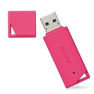 BUFFALO USB3.0対応 USBメモリ バリューモデル 8GB ピンク RUF3-K8GA-PK