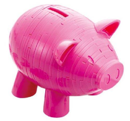 3d crystal puzzle piggy bank instructions