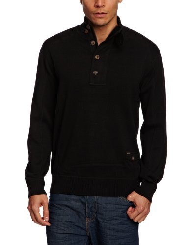 Duck and Cover Gardner Men's Jumper Black XXX-Large