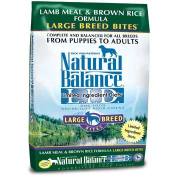 Natural Balance L.I.D. Limited Ingredient Diets®Lamb Meal & Brown Rice Dry Dog Formula
