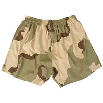 Mil-Tec Boxer Short 3-Color Desert Taille S