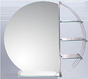 badspiegel badezimmerspiegel wandspiegel ablage neu. Black Bedroom Furniture Sets. Home Design Ideas