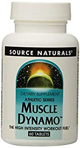 Source Naturals Muscle Dynamo, 60 Tablets