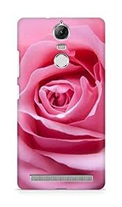 Amez designer printed 3d premium high quality back case cover forLenovo K5 Note (rose pink )