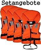 4 Rettungswesten aus der Bootskiste ~ Größe wählbar 15...