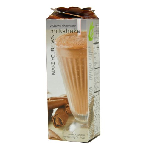 Foxy Gourmet Creamy Chocolate Milkshake Mix, 3.17-Ounce Boxes (Pack of 4)