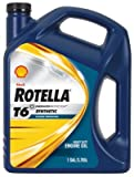 Rotella (550019921) T6 5W-40 Full Synthetic, Heavy Duty Diesel Engine Oil (CJ-4) - 1 Gallon