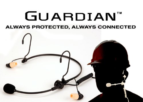 Durosonic Guardian G1 Hearing Protection Headset (Nrr29) For Motorola Two-Pin Radios