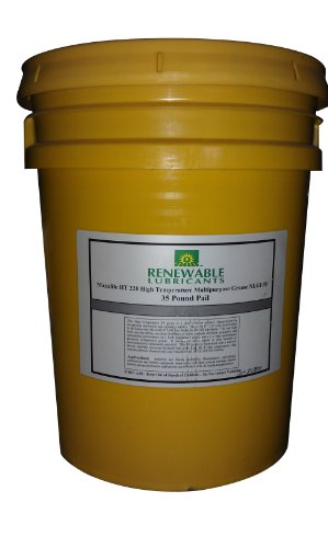 Renewable Lubricants Maxxlife Ht 220 High Temperature Nlgi 2 Multipurpose Grease, 35 Lbs Pail