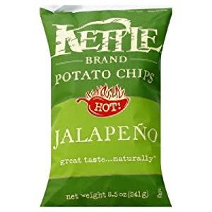 Amazon.com: Kettle Brand Jalapeno Potato Chips, 8.5 oz