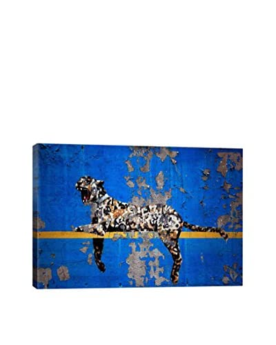 Banksy Yankee Stadium Tiger Gallery Wrapped Canvas Print