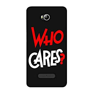 Micromax Canvas Spark 3 Q385 Designer Soft Case Back Cover By Fasheen