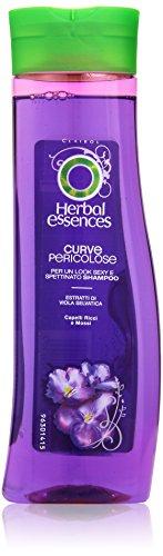 Herbal Essences - Shampoo Curve Pericolose, Capelli Ricci e Mossi - 250 ml