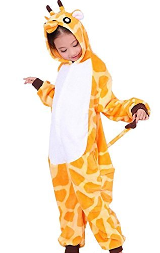 Kigurumi Giraffe Style Costume [ 47in-51in for Kids ] Pajamas