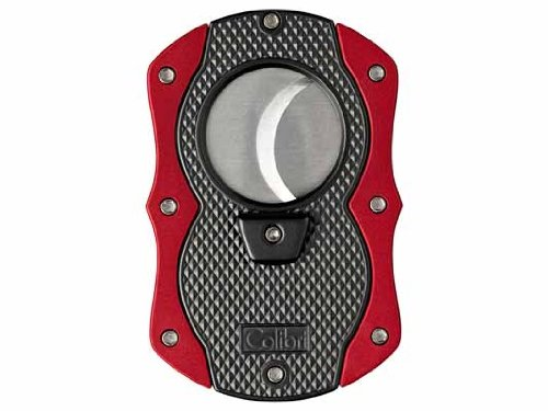 Colibri Monza cigar cutter Red