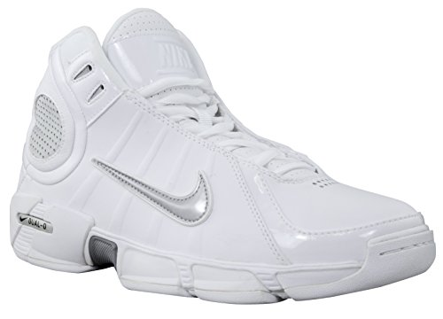 Nike Air Dual D 2k6 Womens Mid Basketball Shoe White/Silver 8.5