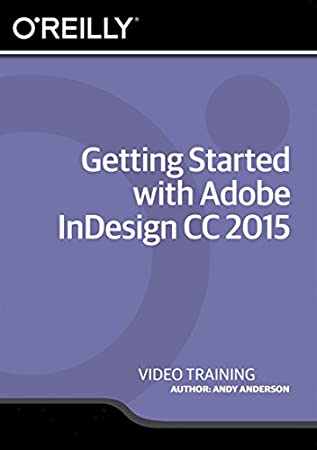 Getting Started with Adobe InDesign CC 2015 - Training DVD