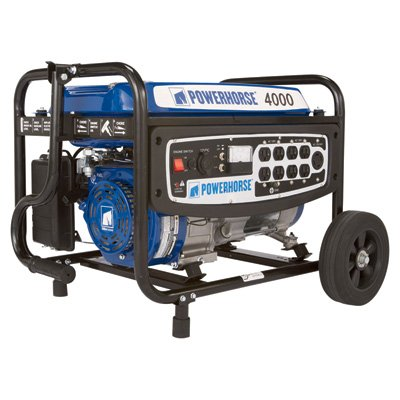 41Il9YaPdtL. SL500  Powerhorse Portable Generator   4000 Surge Watts, 3100 Rated Watts