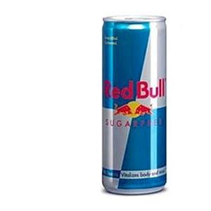 【U.S.A.版・日本未発売サイズ】 レッドブル シュガーフリー 8.4オンス(約240ml) 【大変お得な32本セット】 【国内・アメリカからの送料無料】 わずか10キロカロリー Red Bull Energy Drink, Sugarfree, 8.4 Ounce Can 32packs