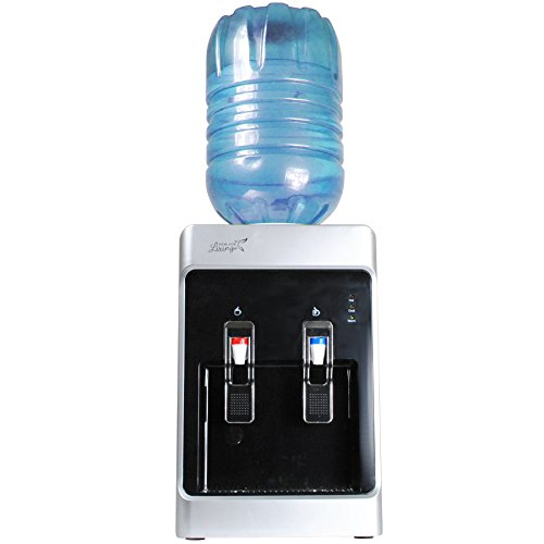 Fantastic Deal! New Age Living 5 Gallon Desktop Cold & Hot Water Dispenser | Fits Standard 3-5 G...