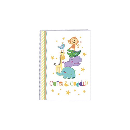 Cute and Cuddly Baby Animals 4 by 6 Inch Photo Album