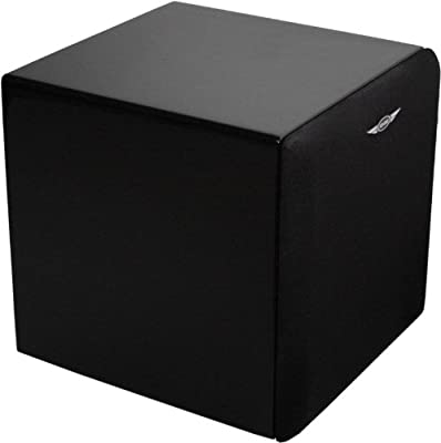 Earthquake Sound MiniMe FF8 Front Firing Mini Subwoofer (Piano Black) by Earthquake Sound