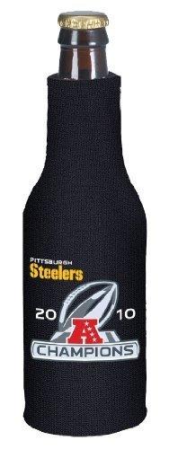 Pittsburgh Steelers 2010 Afc Champions Bottle Cooler Koozie Huggie from Kolder
