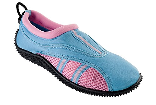 "Fun Toes Womens ""Sandal"" Style Water Shoe In 4 Bright Colors"