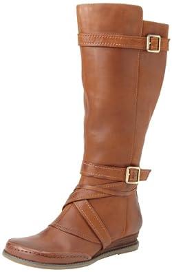 Miz Mooz Women's Pauline Wide Calf Boot,Whiskey,6 M US