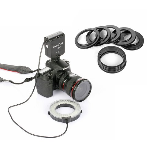 Aputure-HN100-Amaran-Halo-LED-Ring-Light-for-Nikon-Black