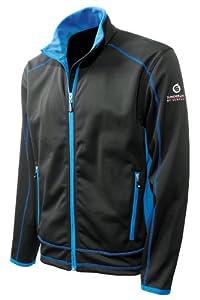 Mens Sunderland Coldwear Bonded Fleece Jacket - L - Black / Love