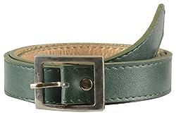 Garvan Women's Green Leather Belt (LBW 16-Green)
