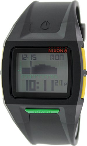 Nixon Lodown II Watch (Black Rasta) (Lodown Ii compare prices)