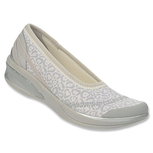 3d8f1576b911 Naturalizer Women s White Grey BZees by Flawless 6 B(M) US