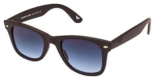 Vincent Chase VC 5147 Matte Black Blue Gradient C3 Wayfarer Sunglasses (105662)