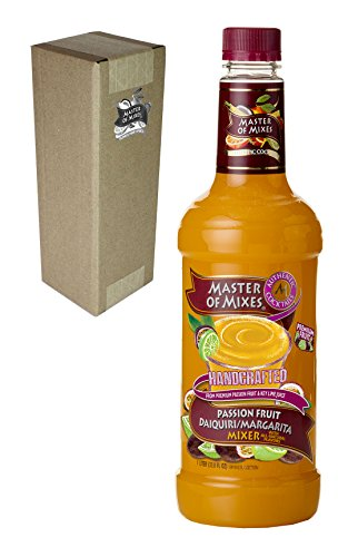 Master of Mixes Passion Fruit Drink Mix, Ready To Use, 1 Liter Bottle (33.8 Fl Oz), Individually Boxed (Margarita Mix Kosher compare prices)