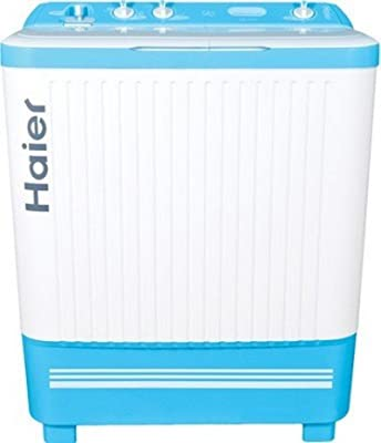 Haier XPB 72-714D Semi-automatic Top-loading Washing Machine (7.2 Kg, Blue)
