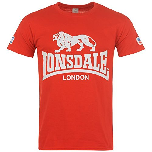 lonsdale-mens-walk-in-t-shirt-short-sleeve-cotton-tee-top-crew-neck-red-m