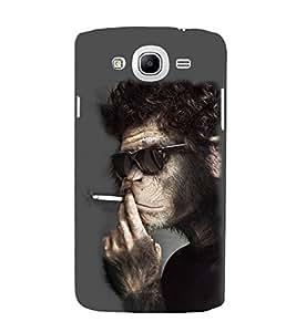 EPICCASE Smoking monkey swag Mobile Back Case Cover For Samsung Galaxy Mega 5.8 I 9150 (Designer Case)