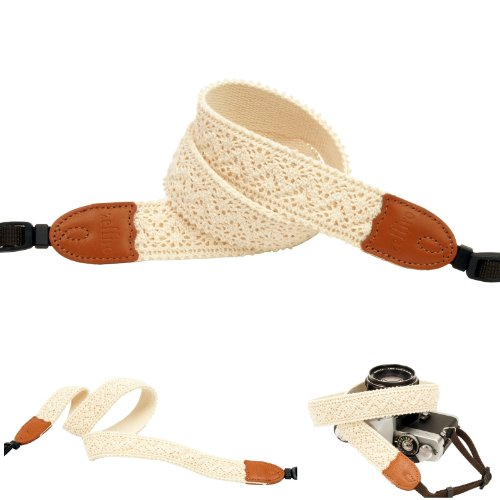 Ivory Lace Style Fashion Camera Neck Shoulder Strap for Film