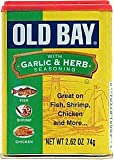 Old Bay Garlic Herb Seasoning 2.62 Oz (Pack of 2)