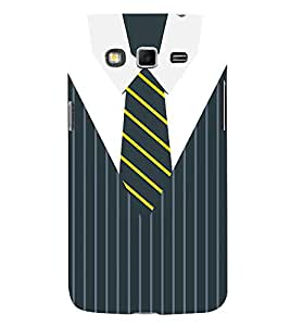 Stripes Executive Dress 3D Hard Polycarbonate Designer Back Case Cover for Samsung Galaxy Grand i9080 :: Samsung Galaxy Grand i9082