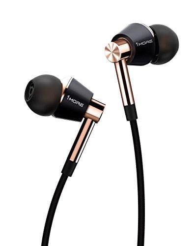 1MORE E1001Écouteurs intra-auriculaires triple driver Casque avec microphone en ligne et télécommande
