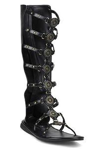 ROMAN-15, Brown Pu Men's Roman Sandal(Brown Pu,S) by Pleaser Usa Inc