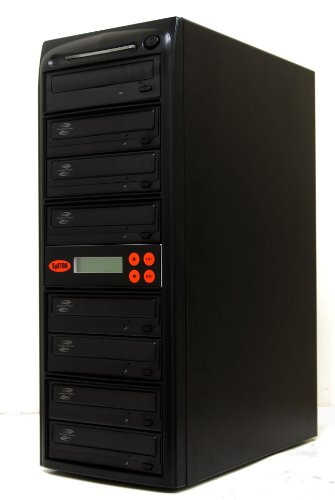 Systor 1-7 SATA CD DVD Duplicator 20X LightScribe Burner with USB Connection (£40 value)