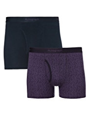 2 Pack Autograph Modal Blend Floral Trunks