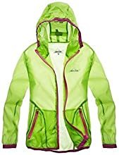 Latest Children Lightweight Skin Windbreaker - 120cm - Light Green