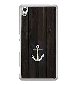 Anchor 2D Hard Polycarbonate Designer Back Case Cover for Sony Xperia Z3+ :: Sony Xperia Z3 Plus :: Sony Xperia Z3+ dual :: Sony Xperia Z3 Plus E6533 E6553 :: Sony Xperia Z4